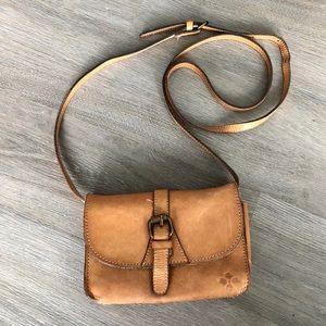 Patricia Nash • Leather Small Crossbody Bag Purse